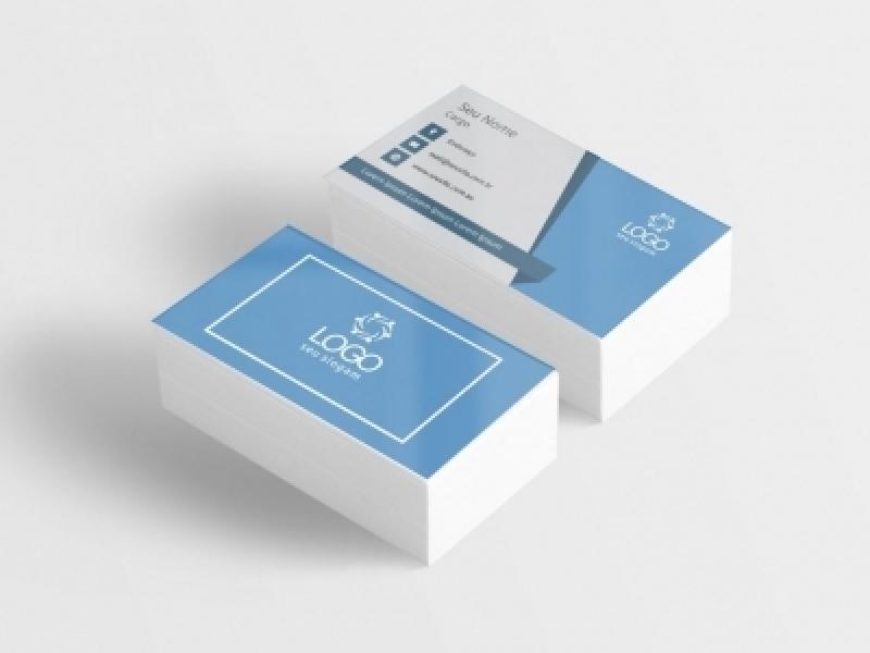 Cartão de Visita para Loja de Roupas Morumbi - Cartão de Visita Fosco