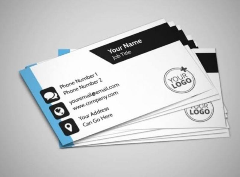 Preciso de Cartão de Visita Pessoal Itaim Bibi - Cartão de Visita para Loja