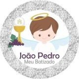 adesivos para batizado Jardim Marajoara