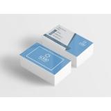 cartão de visita para nutricionista Jardim Europa