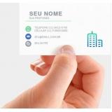 cartão de visita verniz localizado orçamento Interlagos