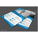 panfleto para restaurante valor Campo Grande
