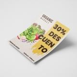 panfleto para pizzaria