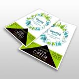 panfleto para restaurante